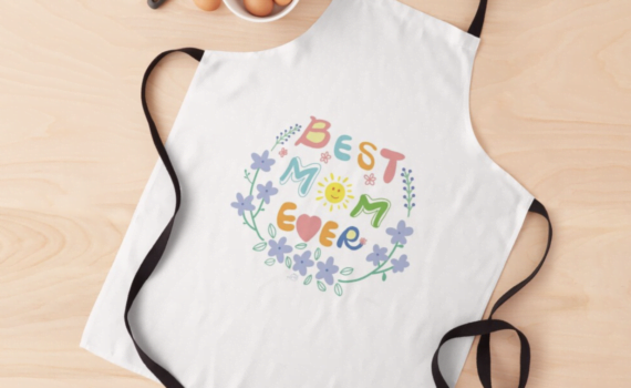 Best Mom ever Apron gift